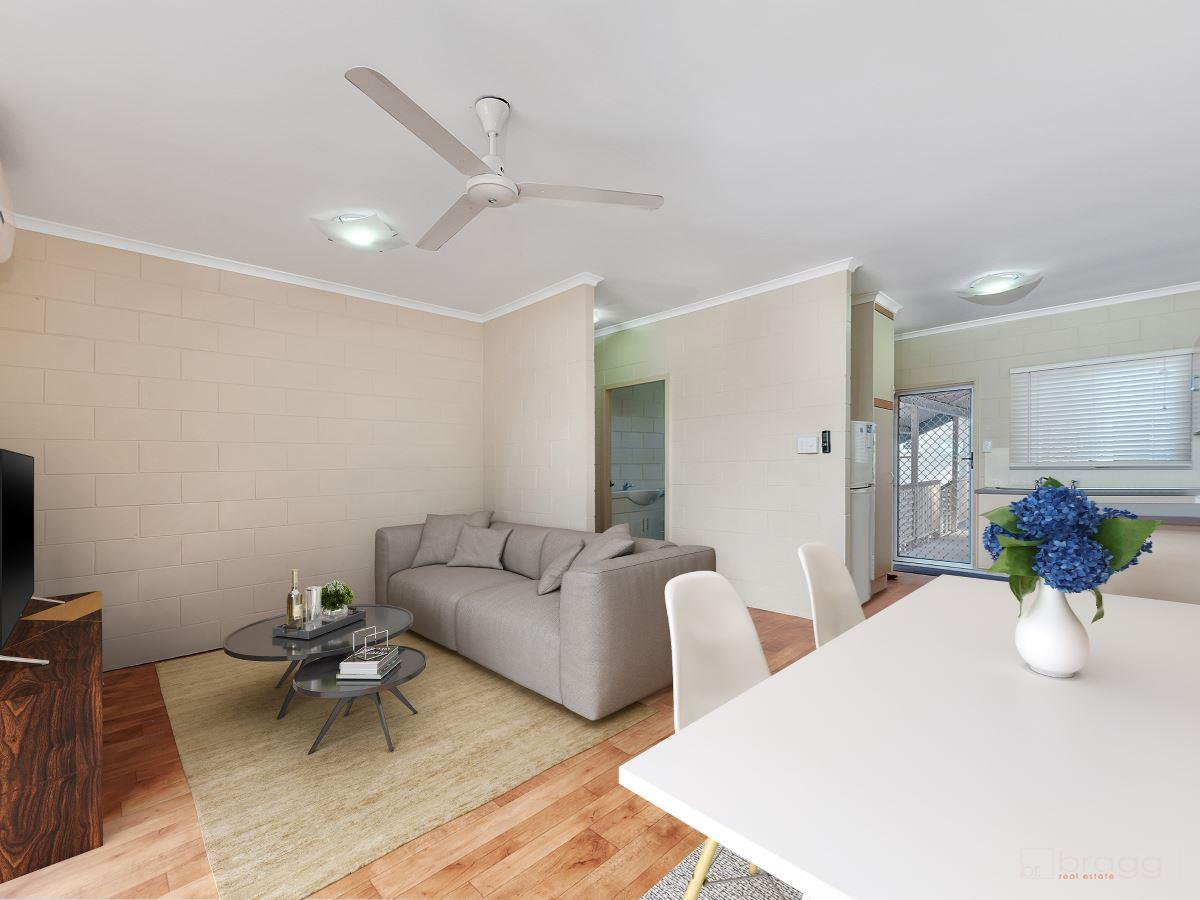 TOP FLOOR UNIT PROVIDES AMAZING OPPORTUNITY