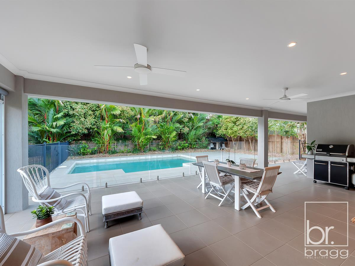 Showstopping large family home with resort style pool!