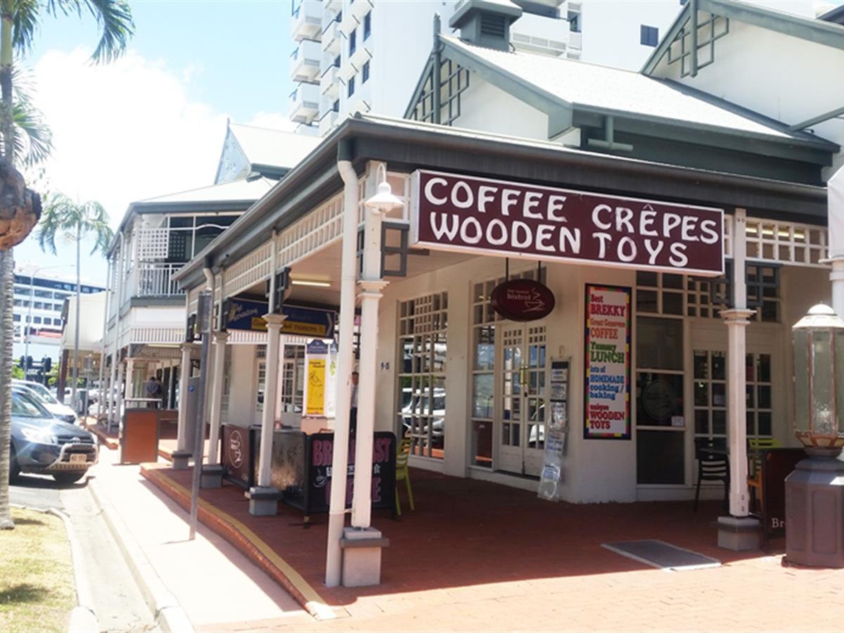 QUAINT INNER-CITY COFFEE SHOP FOR SALE